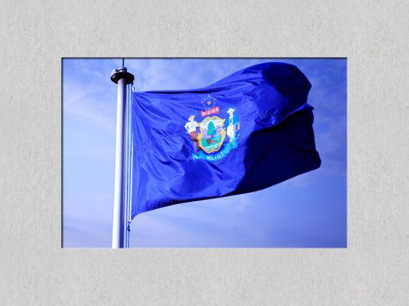 Maine_Flag