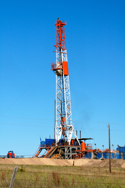 Gas-well-rig