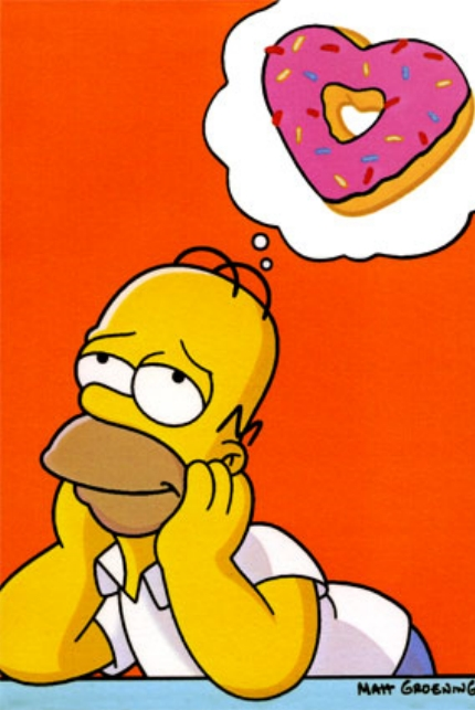 Homer-simpson-dreaming-of-donuts