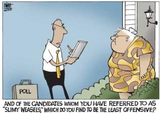 Bad candidate