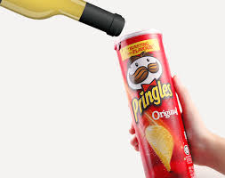Wine from a Pringles can